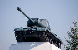 Russian heavy tank IS Stock Photography