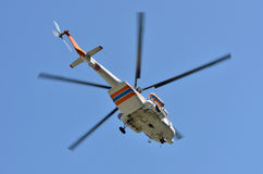Russian helicopter Mi-17 Stock Images