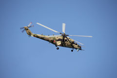 Russian helicopter Mi-28 Night Hunter Royalty Free Stock Photos