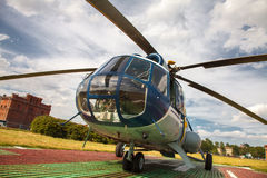 Russian helicopter Mi 8 Stock Photos