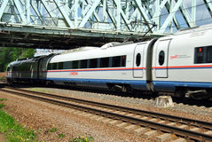 Russian high-speed passenger train Royalty Free Stock Image