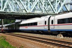 Russian high-speed passenger train Stock Image