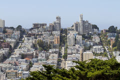 Russian Hill Stock Photography