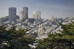 Russian Hill, San Francisco Stock Images