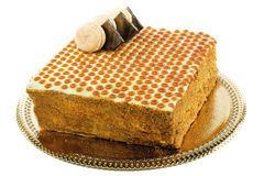 Russian honey cake. Royalty Free Stock Photo