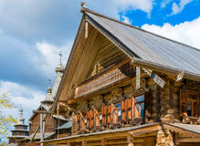 Russian houses of the Middle Ages Royalty Free Stock Photo