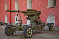 Russian howitzer Stock Photography