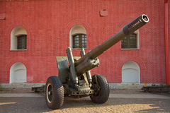Russian howitzer Royalty Free Stock Photos
