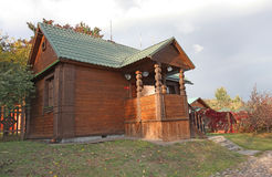Russian hut. Kolomenskoye, Moscow Stock Photography