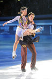 Russian ice skaters Tatiana Totmianina Maxim Mari Royalty Free Stock Image