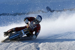 Russian Ice Speedway Championship Stock Images