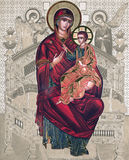 Russian icon - elaborated image Stock Photo