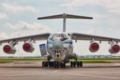 Russian IL-76 stock photos