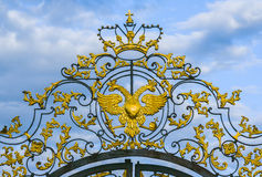 Russian imperial eagle Stock Photography