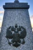 Russian Imperial Eagle, Yalta, Crimea Stock Image