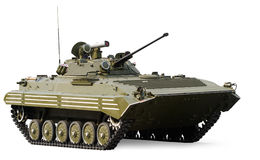 Russian infantry light tank. BMP-2 with clipping path stock photo