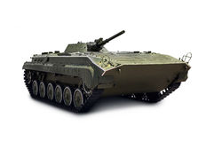 Russian infantry light tank BMP-2 with clipping path Stock Images
