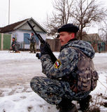 THE RUSSIAN INVASION OF CHECHNYA Stock Images