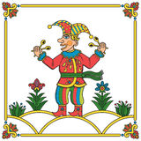 Russian jester 01 Royalty Free Stock Image