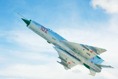Russian jet airplane Royalty Free Stock Image
