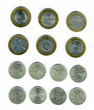 Russian jubilee coins Stock Images