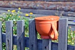 Russian jug. Kaluga, summer 2012 Royalty Free Stock Photography