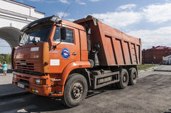 Russian Kamaz truck Stock Images
