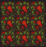 Russian Khokhloma pattern. Stock Photography