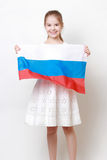 Russian kid Royalty Free Stock Photos