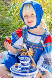Russian kids Stock Photography