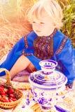 Russian kids Stock Photos