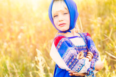 Russian kids Stock Images