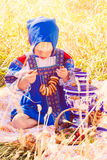 Russian kids Royalty Free Stock Photos