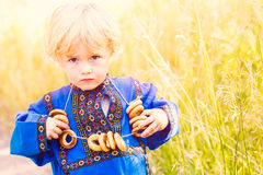 Russian kids Royalty Free Stock Images