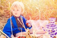 Russian kids Stock Image