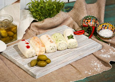Russian kitchen and food Stock Image