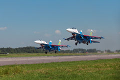 Russian Knights Stock Images
