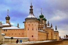 Russian Kremlin Stock Photography