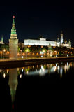 Russian Kremlin in the Moscow close up Stock Photo