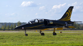 Russian L-39. Stock Photography