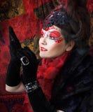 Russian lady Stock Photo