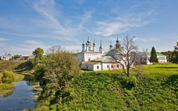 Russian landscape Royalty Free Stock Photo