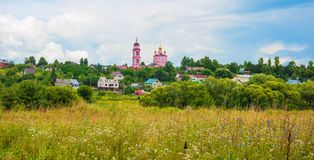Russian landscape Stock Photo