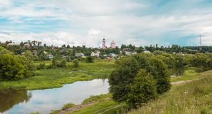 Russian landscape Royalty Free Stock Photography