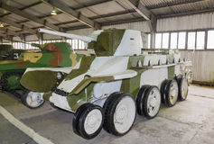 Russian light tank BT-5 isolated Royalty Free Stock Image