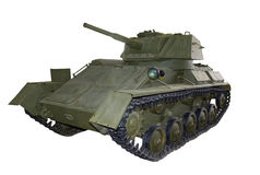 Russian light tank t80 Stock Image