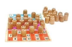 Russian lotto Royalty Free Stock Photo