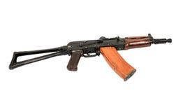 Russian machine gun AKS-74U Stock Photography
