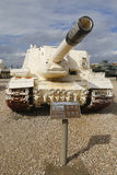 Russian made ISU-152 self propelled gun captured by IDF during Six Day War in Sinai on display at Yad La-Shiryon Museum Royalty Free Stock Photos