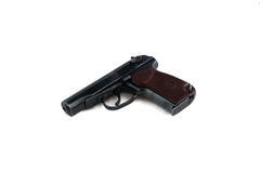 Russian Makarov police gun of 9 mm Stock Photography